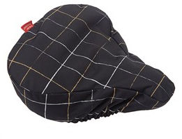New Looxs Check Black Saddle cover | Saddle cover