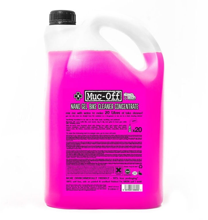 MUC-OFF Bike Cleaner Concentrate 5L | polish_and_lubricant_component