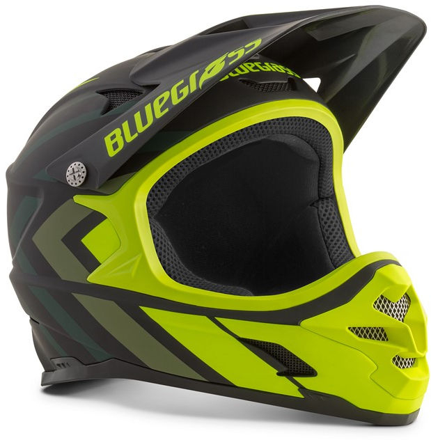 Bluegrass hjelm MTB sort/gul- Full face Intox | Helmets