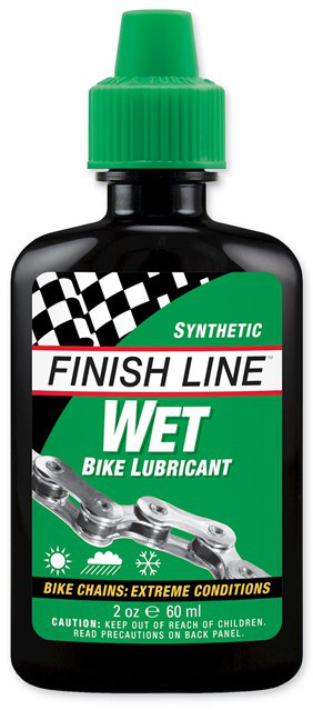 Finish line ceramic wet Chain Lube - 60 ml | polish and lubricant
