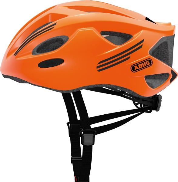 abus S-Cension, neon orange cykelhjelm | Helmets