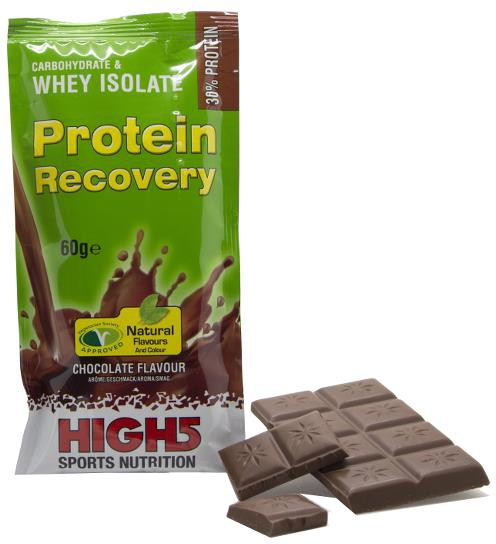 High5 Protein Recovery chokolade brev | Protein bar and powder
